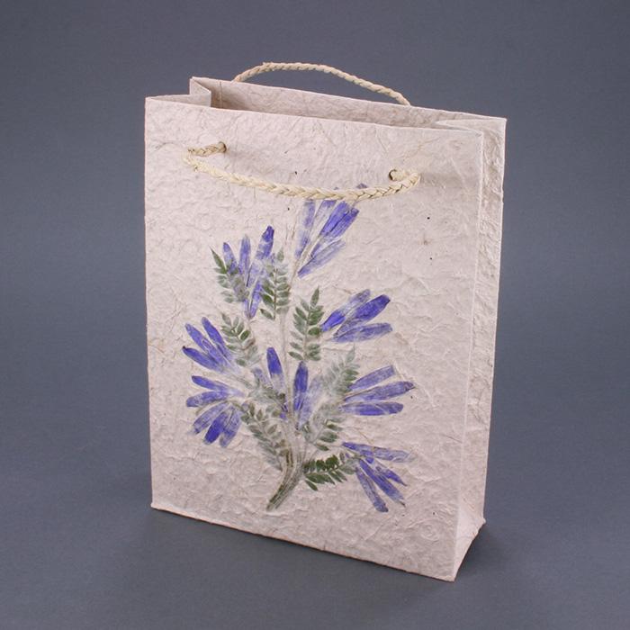 """Flower Gift Bag - 6"""" x 8"""" x 2.5"""""""
