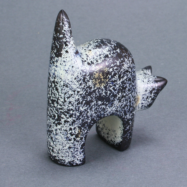 Carved Soapstone Kitty
