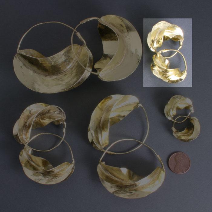 Fulani Brass 1 1/4
