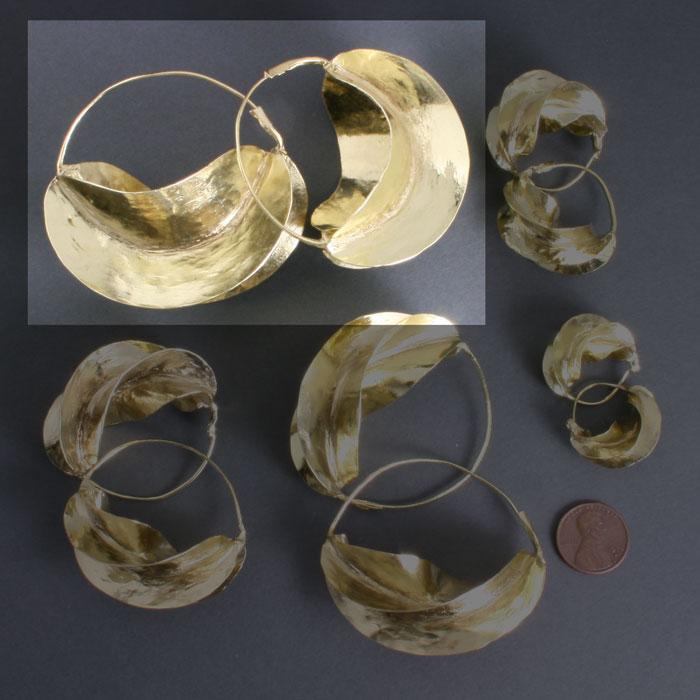 Fulani Brass 2 1/2