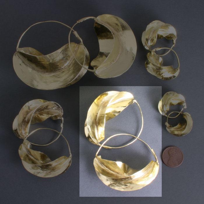 Fulani Brass 2 1/8
