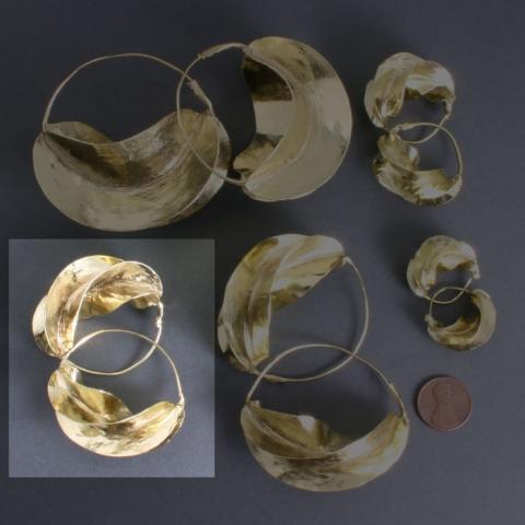 Fulani Brass 1 3/4