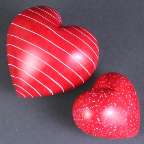 Soapstone Hearts